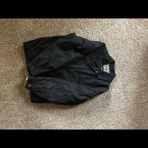 Perry Ellis portfolio men's microfiber coat.